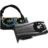Видеокарта EVGA GeForce RTX 3090 FTW3 Ultra Hybrid Gaming (24 ГБ): громоздкая и весьма шумная СО с внешним радиатором, колоссальный лимит по потреблению в 500 Вт