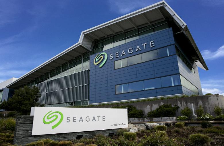 Опубликован отчёт Seagate за третий квартал 2021 финансового года