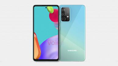 Нефлагманский смартфон Samsung, который, вероятно, обойдёт многие iPhone. Смотрим на первые изображения Galaxy A52
