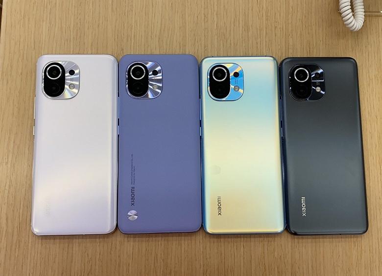 Флагманский смартфон Xiaomi Mi 11 поступает в свободную продажу в Китае