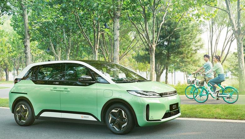 MEG закупит 2000 электромобилей BYD D1, специально спроектированных для такси
