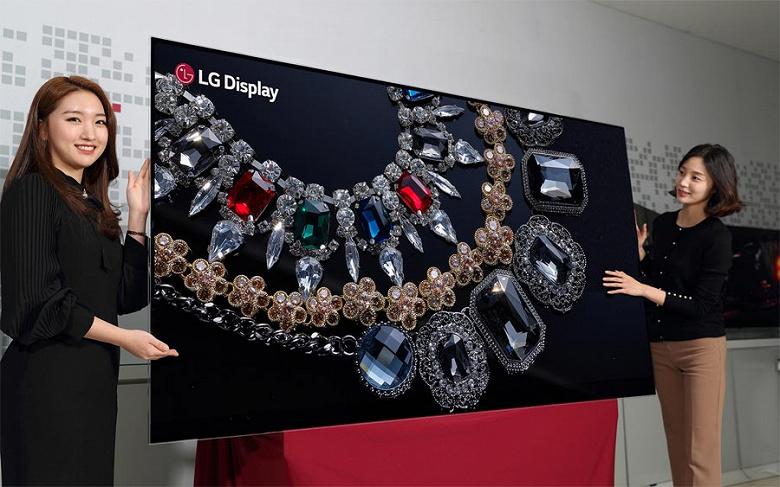 В следующем году массово появятся 83-дюймовые телевизоры с экранами OLED разрешением 4К