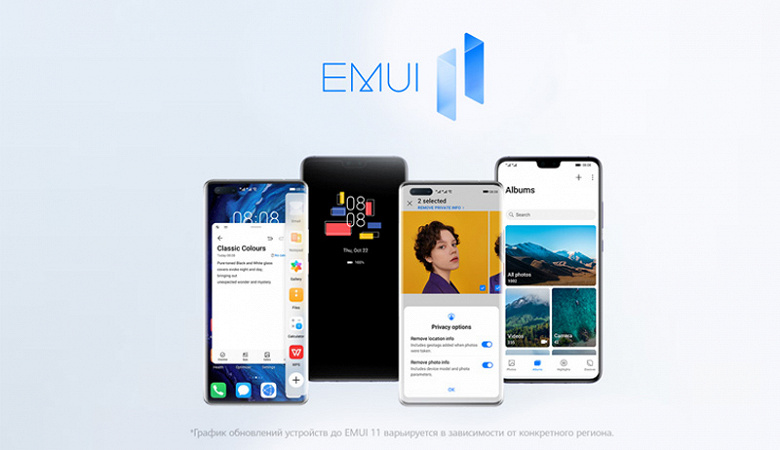 Прогресс по переходу на EMUI 11: все из 37 обещанных моделей Huawei и Honor уже обновляются