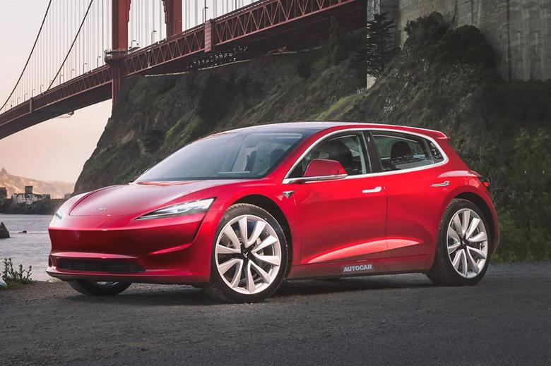 Tesla Model 2 за $25 000 предложит запас хода не менее 400 км и будет конкурировать с Volkswagen ID.3, Nissan Leaf и Kia e-Niro
