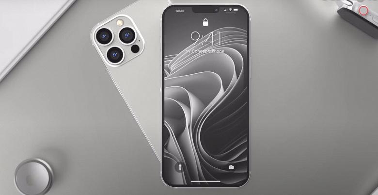iPhone 13 Pro со сканером отпечатков пальцев и уменьшенной чёлкой показали в новом видео