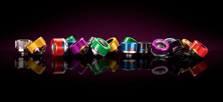 Ассортимент EK пополнили обжимные кольца для фитингов Quantum Torque семи цветов