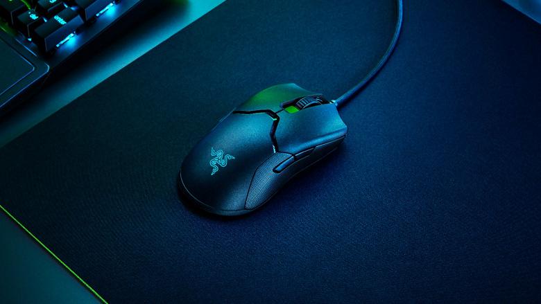 Razer Viper 8KHz — первая игровая мышь для киберспорта с реальной частотой опроса 8000 Гц.