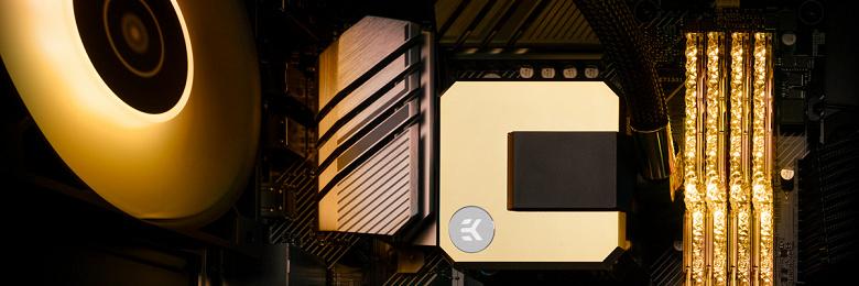 Представлены системы жидкостного охлаждения EK-AIO Basic 240, EK-AIO Basic 360 и EK-AIO Elite Aurum 360 D-RGB