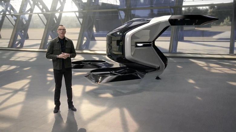Компания GM рассказала о персональном дроне Cadillac eVTOL