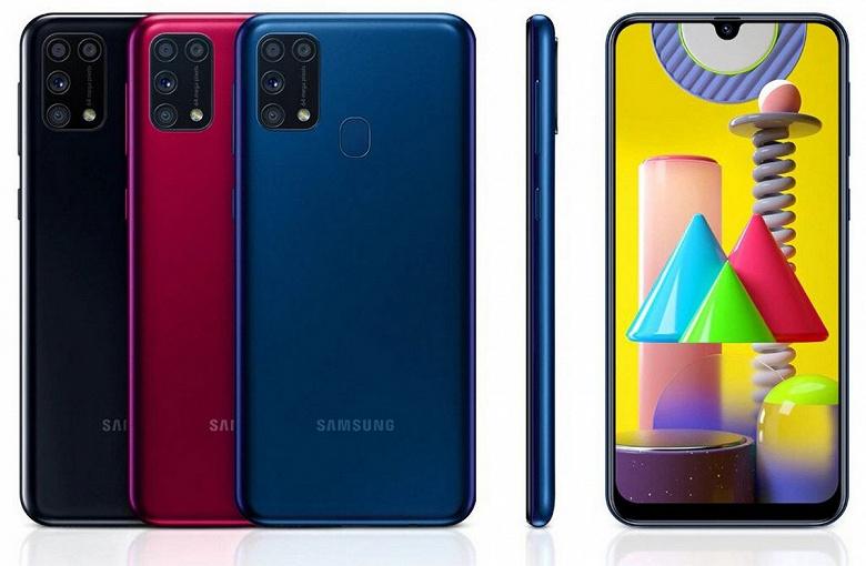 Samsung Galaxy M31 стал первым бюджетным смартфоном компании с One UI 3.0 и Android 11