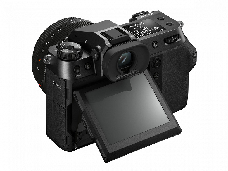 Представлена камера среднего формата Fujifilm GFX100S