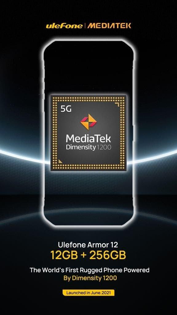 Первый неубиваемый смартфон с Dimensity 1200 и 12 ГБ ОЗУ. Анонсирован Ulefone Armor 12