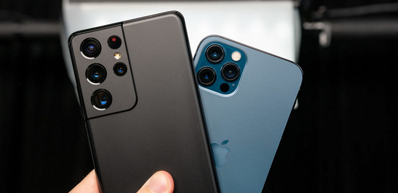 Битва камер Samsung Galaxy S21 Ultra и iPhone 12 Pro Max. Какой аппарат лучше?