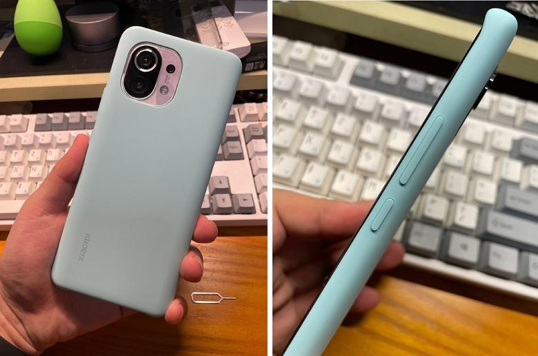 Родной чехол для Xiaomi Mi 11 не рекомендуют для покупки. Он совсем не защищает камеру