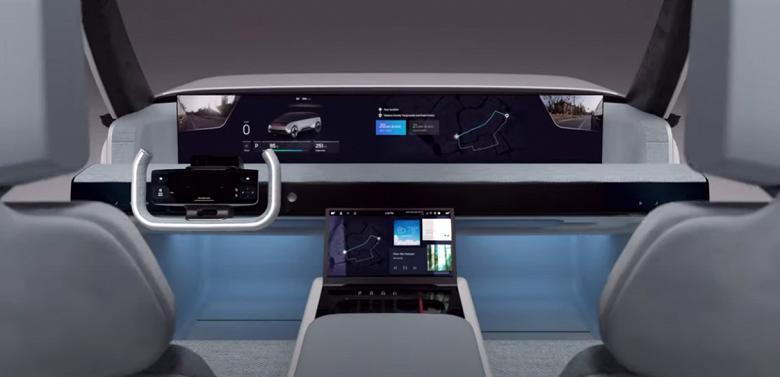 Настоящий автомобиль будущего по мнению Samsung. Компания показала концепцию Digital Cockpit 2021