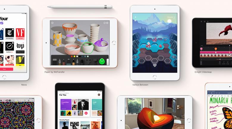Самый маленький планшет Apple наконец-то получит более крупный дисплей. Новая модель iPad mini ожидается в марте