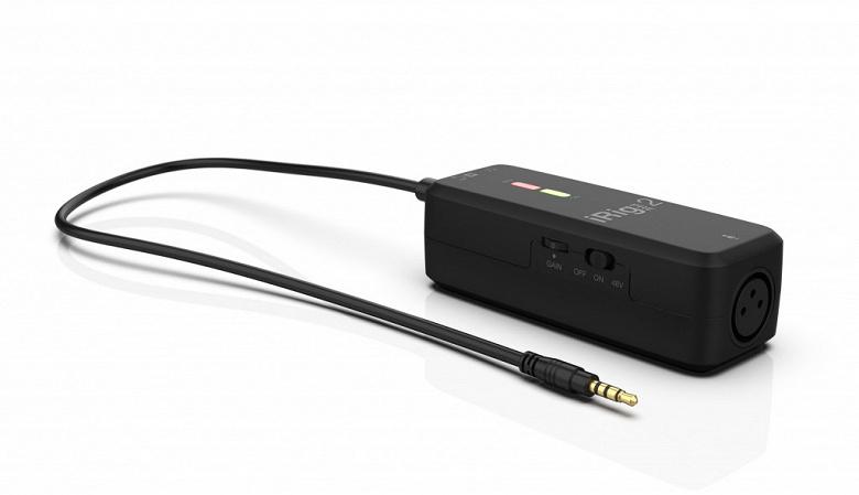 Карманный микрофонный предусилитель и интерфейс IK Multimedia iRig Pre 2 оценен в 50 евро