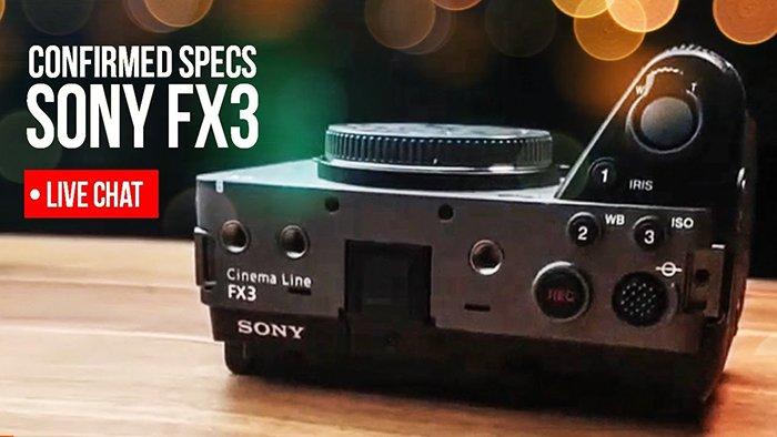 Появилось новое изображение и некоторые характеристики камеры Sony FX3