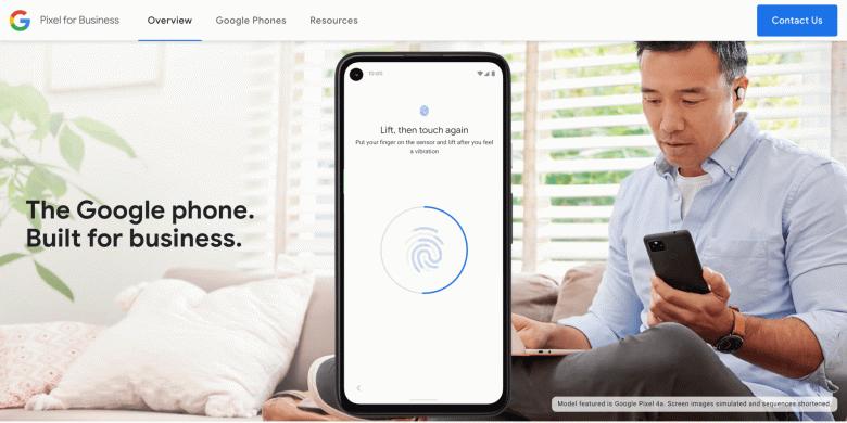 Google Phone — так называет смартфоны Pixel сам производитель