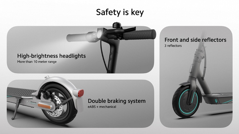 Xiaomi представила «Мерседес» в мире самокатов. Встречаем Mi Electric Scooter Pro 2 Mercedes-AMG Petronas F1 Team Edition