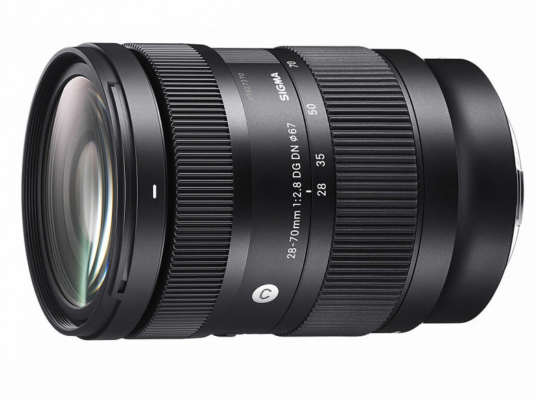 Представлен объектив Sigma 2870mm F2.8 DG DN  Contemporary