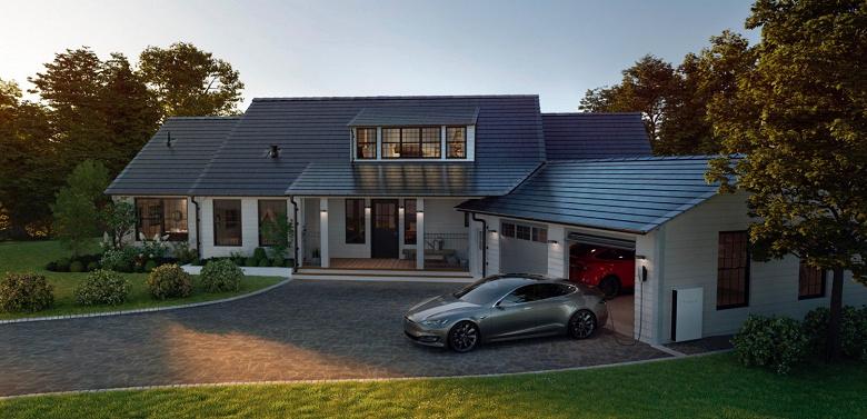 Маск обещает в этом году начать продажи солнечных крыш Tesla Solar Roof в Канаде и Европе