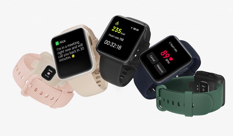Стартовали продажи антистрессовых умных часов Xiaomi Mi Watch Lite в России