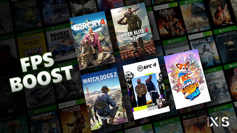 До 120 к/с в старых играх: Microsoft запустила FPS Boost для Xbox Series X S