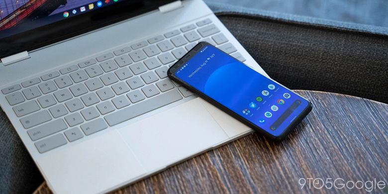 В Chrome OS скоро появится возможность транслировать контент с телефона