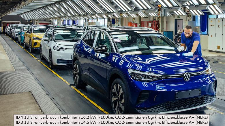 Volkswagen в этом году запустит в производство ещё один электромобиль. Это будет купеобразный кроссовер ID.5