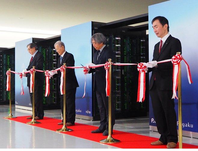 Завершено создание самого быстрого суперкомпьютера в мире