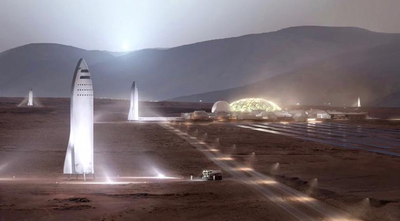 Космические корабли SpaceX Starship начнут летать на Марс задолго до 2030 года
