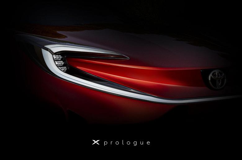 Toyota готовится показать свой первый полностью электрический кроссовер