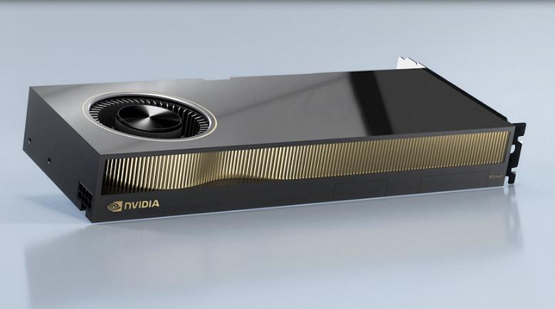 Новые мощные видеокарты Nvidia, которые вряд ли заинтересуют майнеров. RTX A5000 и A4000 прописались в базе Khronos Group
