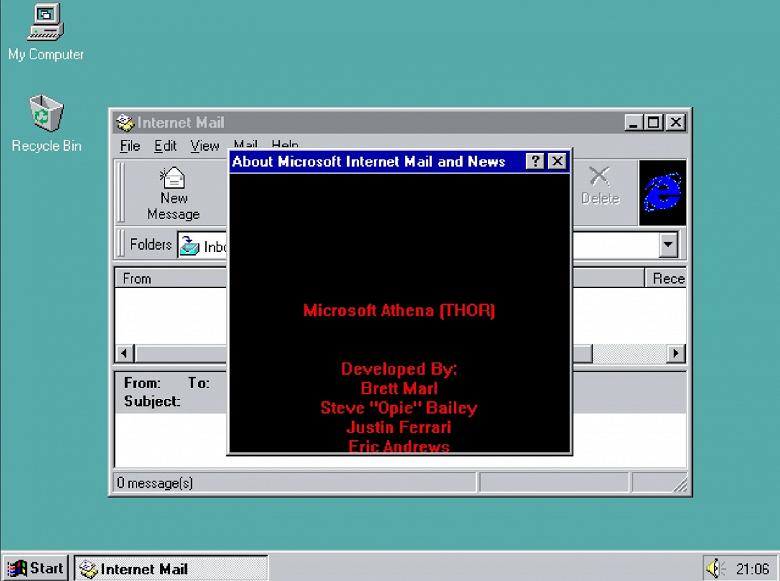 Лучше поздно, чем никогда: в Windows 95 обнаружена неизвестная ранее «пасхалка»