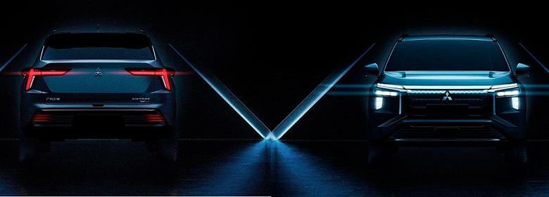 Mitsubishi показала электрический кроссовер Airtrek