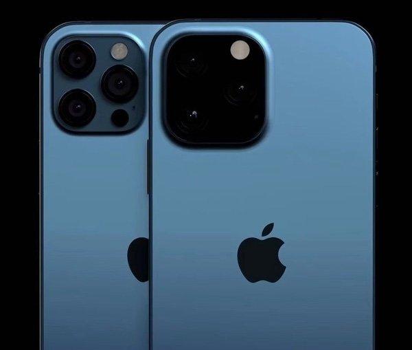 iPhone 13 Pro с почерневшей камерой на новом рендере