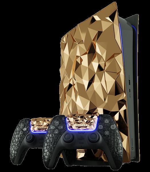 ?Такую Sony PlayStation 5 мы ещё не видели. «Золотой камень» весом 20 кг