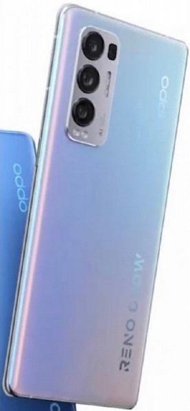 Oppo Reno5 Pro+ 5G станет первым смартфоном в мире с 50-мегапиксельным датчиком Sony IMX7XX