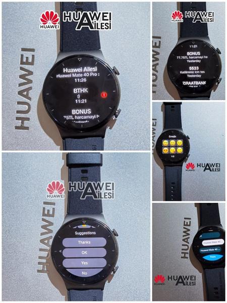 Умные часы Huawei Watch GT 2 Pro научили отвечать на SMS