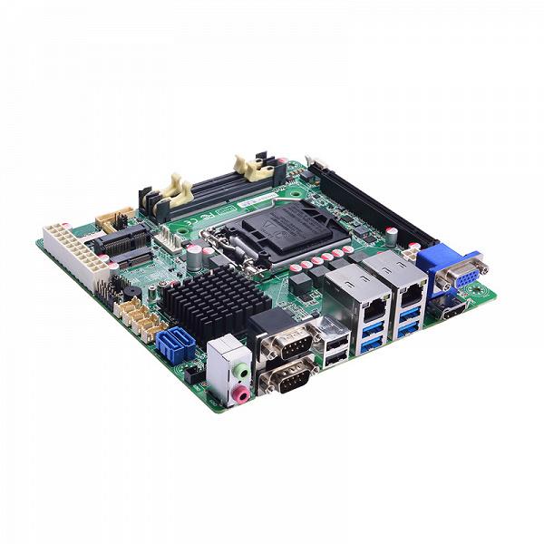 Системная плата Axiomtek MANO522 построена на чипсете Intel H310