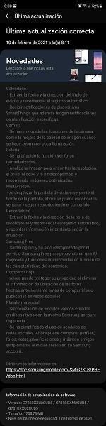 «Бюджетный» флагман Samsung Galaxy S20 FE первым получил большое обновление с новыми функциями, как у Galaxy S21