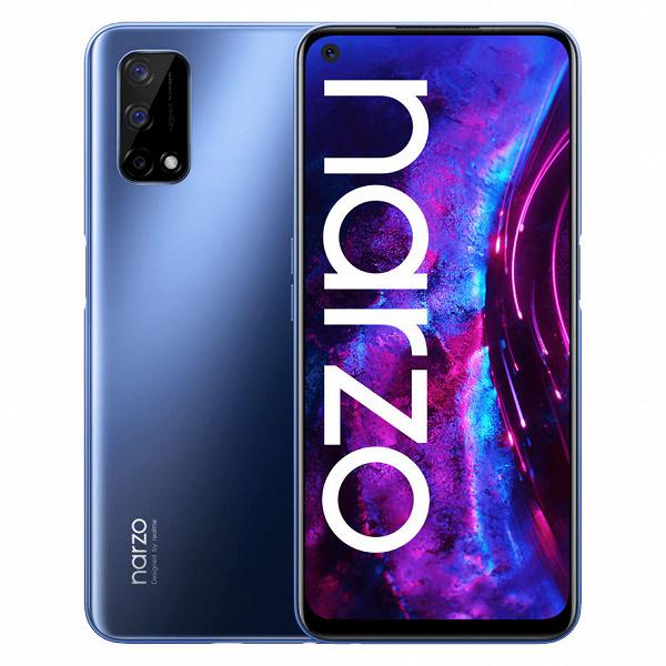 Стартовали продажи Realme Narzo 30 Pro: 120 Гц, 5000 мА•ч, быстрая зарядка, недорого