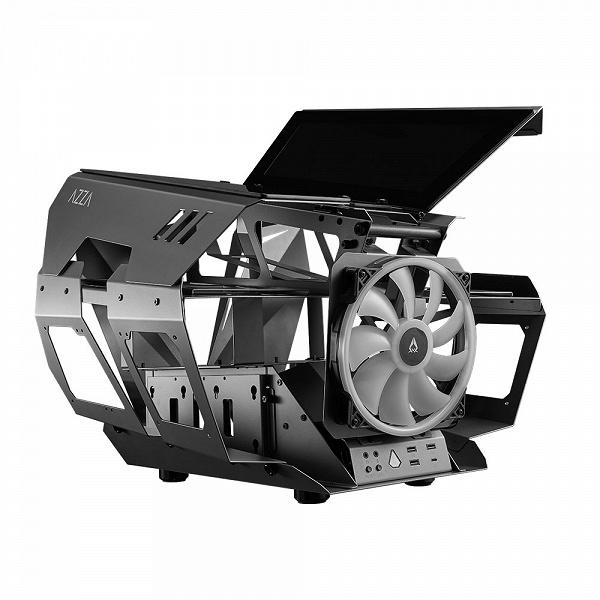 Azza Overdrive массой 23 кг очень отличается от большинства компьютерных корпусов