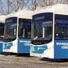 В Омск привезли всю партию новых автобусов