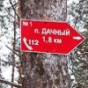 В лесах под Омском стали устанавливать стрелки для потерявшихся людей