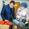 Омским врачам подняли новогоднее настроение