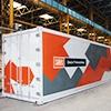 Сделанный в Омске рефконтейнер выдерживает нагрузку до 380 тонн