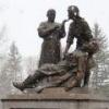 В Омске открыли памятник военным медикам