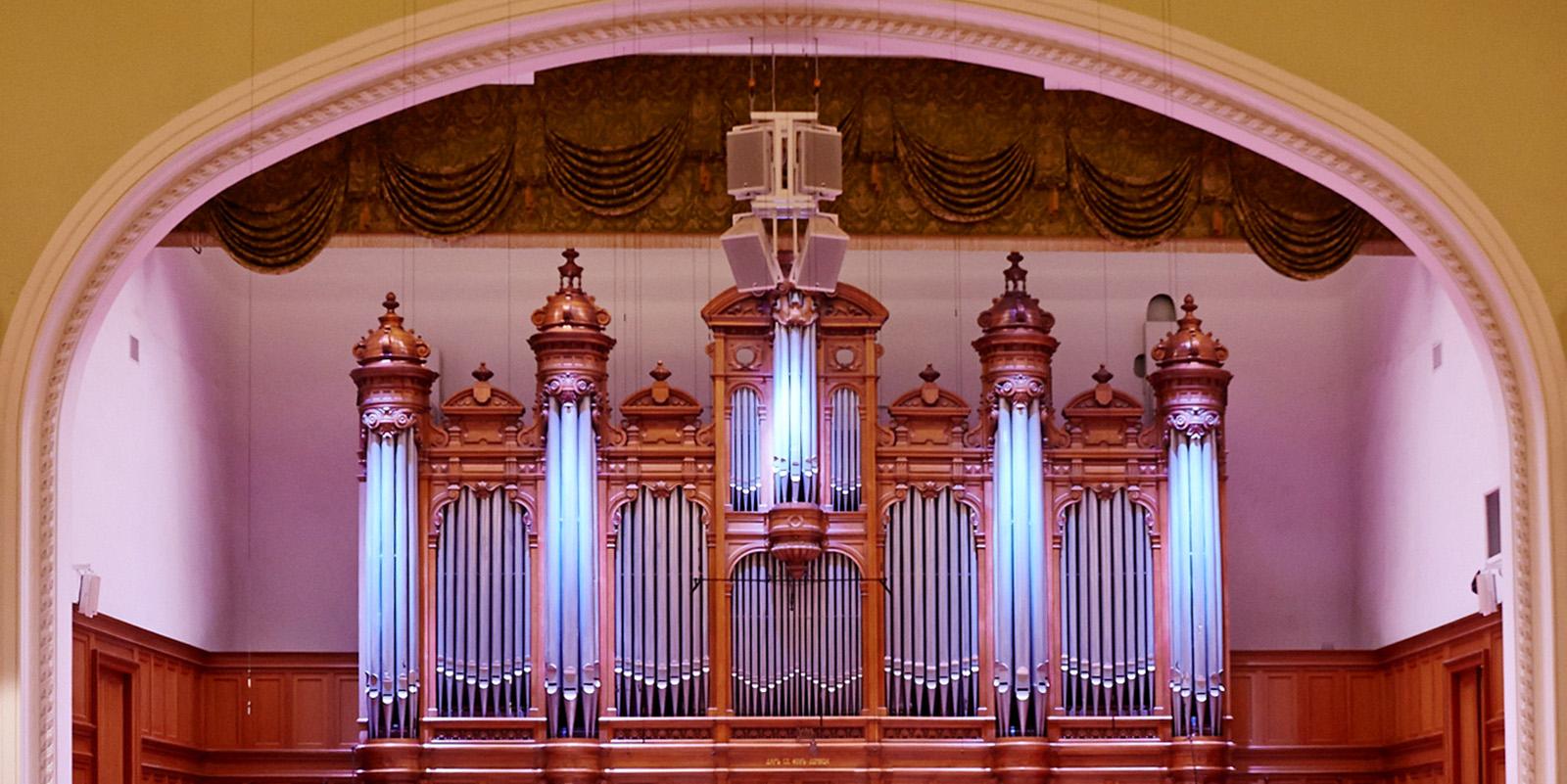 Трансляция: «Рождественский органный марафон» в Московской консерватории